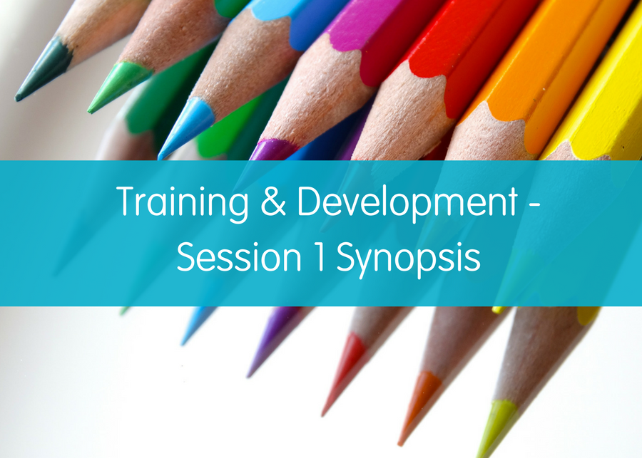 Training & Development - Session 1 Synopsis