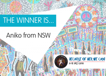 NAIDOC Week 2018 Competition Winner