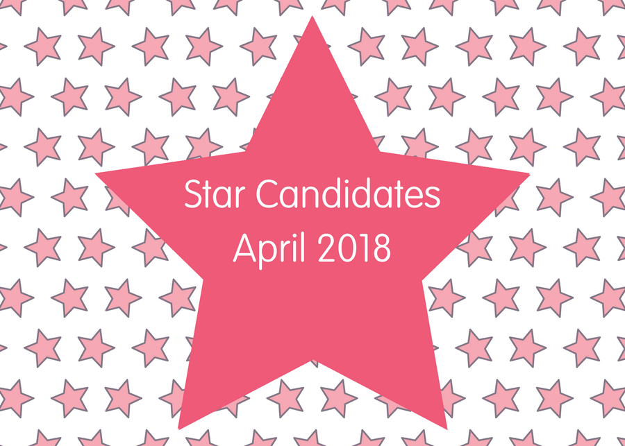 Star Candidates April 2018