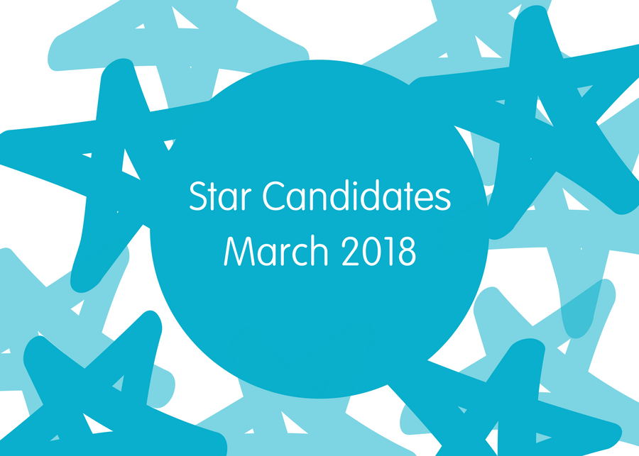 Star Candidates March 2018