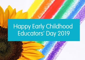 Happy Early Childhood Educator's Day